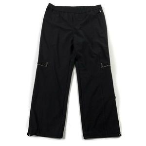 Zenergy By Chicos Cargo Pull On Cropped Pants